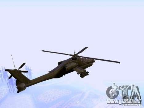HD Hunter para GTA San Andreas vista posterior izquierda
