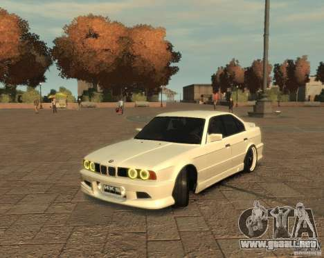 Bmw 535i (E34) tuning para GTA 4 left