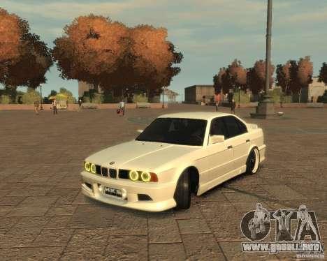 Bmw 535i (E34) tuning para GTA 4 left