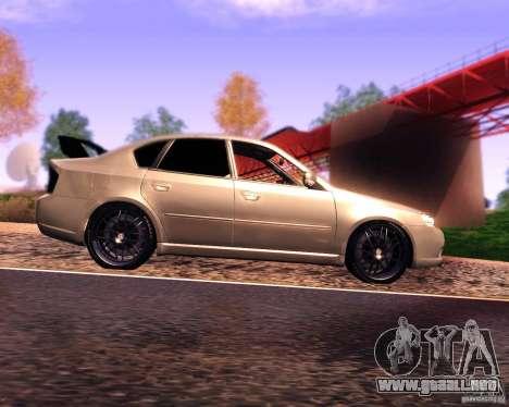 Subaru Legacy 3.0 R tuning v 2.0 para GTA San Andreas left