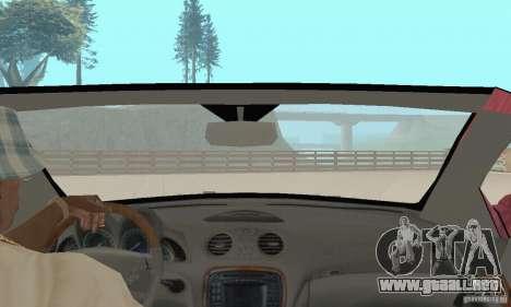 Mercedes-Benz SL500 (R230) para visión interna GTA San Andreas