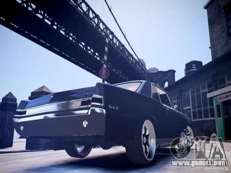 Pontiac GTO 1965 Custom discks pack 2 para GTA 4 left