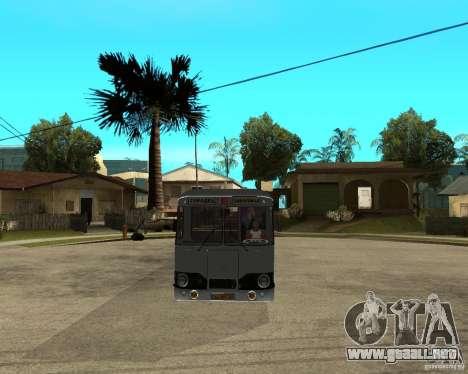 677 LIAZ para GTA San Andreas vista hacia atrás