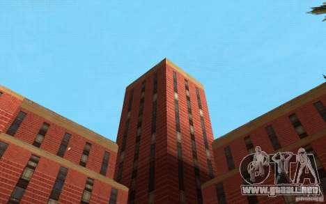 Nuevas texturas para el hospital en Los Santos para GTA San Andreas undécima de pantalla