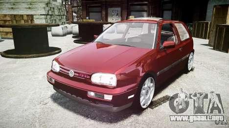 Volkswagen Golf MK3 GTI para GTA 4