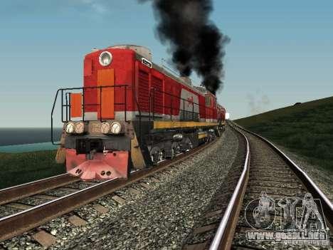 Tem2-6883 RZD para GTA San Andreas