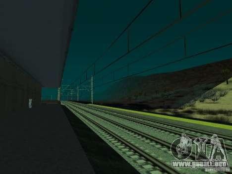 Línea ferroviaria de alta velocidad para GTA San Andreas séptima pantalla