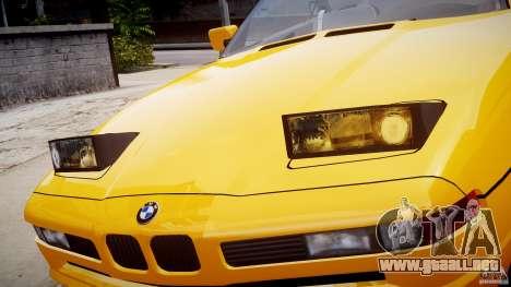 BMW 850i E31 1989-1994 para GTA 4 ruedas