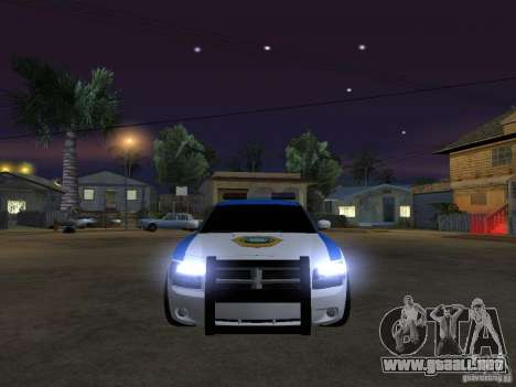 Dodge Charger Police para visión interna GTA San Andreas