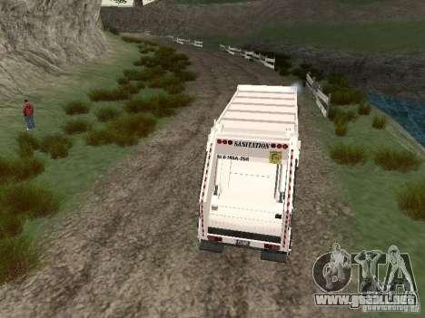 Camión de basura de GTA 4 para la visión correcta GTA San Andreas