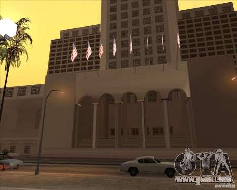 Nuevas texturas del pasillo de ciudad para GTA San Andreas