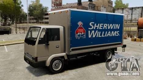 Nuevos anuncios para el carro, mula para GTA 4 vista hacia atrás