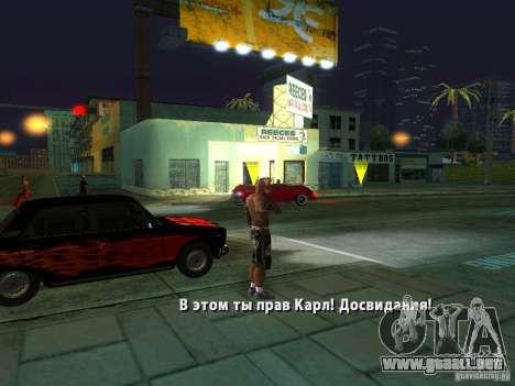Killer Mod para GTA San Andreas décimo de pantalla