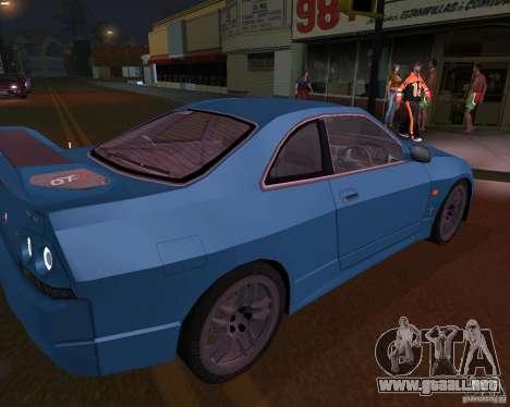 Nissan Skyline GT-R R-33 para GTA San Andreas left
