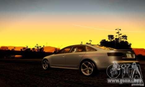 Audi RS6 TT para la visión correcta GTA San Andreas