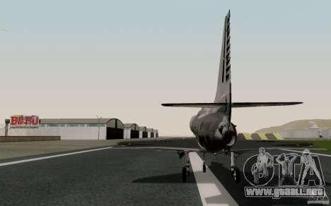 McDonnell Douglas A-4AR Fightinghawk para GTA San Andreas left