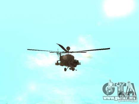 MI 28 Havok para visión interna GTA San Andreas