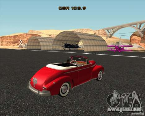Chevrolet Special DeLuxe 1941 para la visión correcta GTA San Andreas