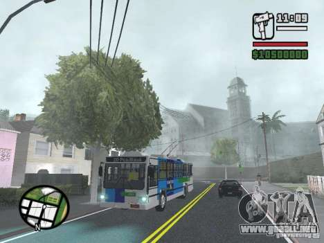 Cobrasma Monobloco Patrol II Trolerbus para GTA San Andreas
