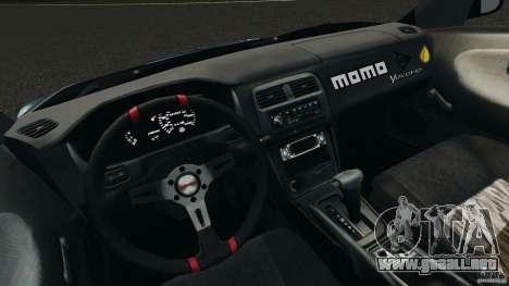 Nissan 240SX Time Attack para GTA 4 vista hacia atrás