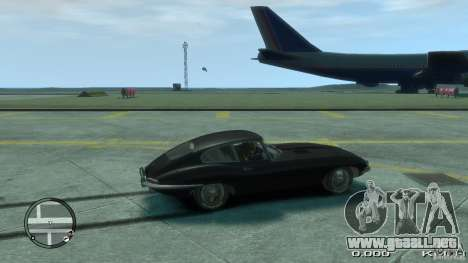 Jaguar XK E-type para GTA 4 left