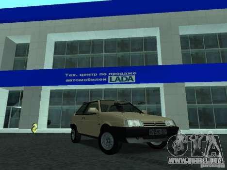 VAZ 2108 CR v. 2 para GTA San Andreas