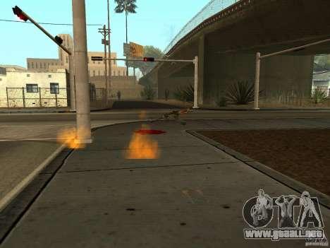 Armas nacional-versión 1.5 para GTA San Andreas sucesivamente de pantalla
