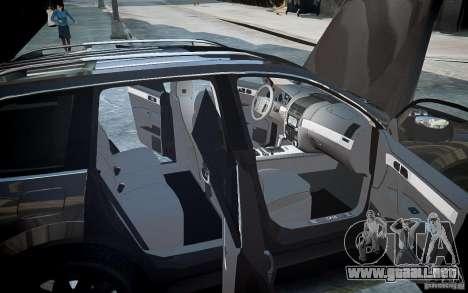 Volkswagen Touareg R50 para GTA 4 ruedas