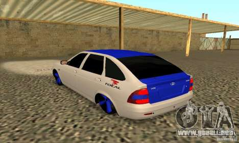 LADA Priora 2172 para GTA San Andreas left