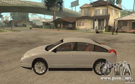 Citroen C6 para GTA San Andreas left