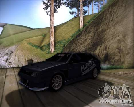 VAZ 2108 K-arte para visión interna GTA San Andreas