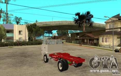 Dac 444 T para GTA San Andreas vista posterior izquierda