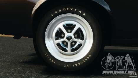 Ford Mustang Boss 429 para GTA 4 vista interior