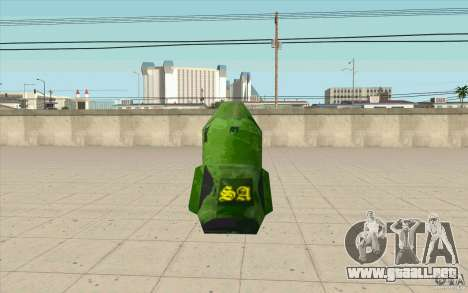 Paracaídas militar para GTA San Andreas
