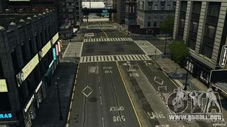 Ciudad vacía para GTA 4