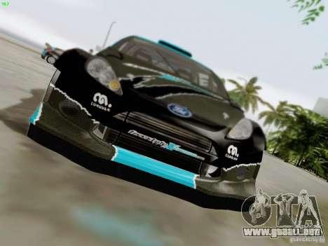 Ford Fiesta RS para la vista superior GTA San Andreas