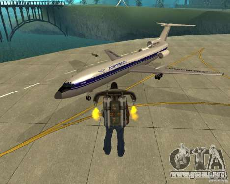 El Tu-154 para GTA San Andreas