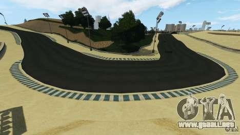 Laguna Seca [HD] Retexture para GTA 4 undécima de pantalla