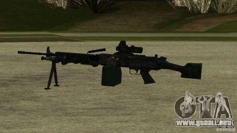 M240 para GTA San Andreas segunda pantalla