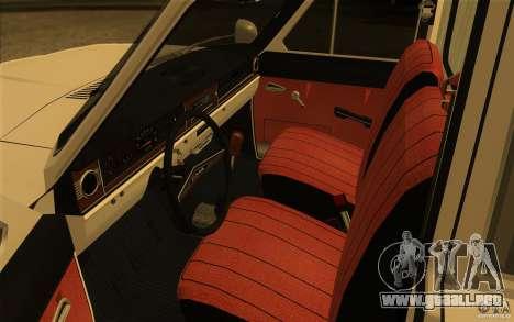 Ambulancia Volga GAZ-24 03 para GTA San Andreas vista hacia atrás