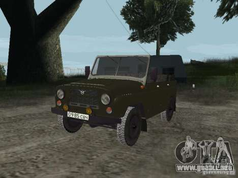 UAZ 469 para GTA San Andreas left