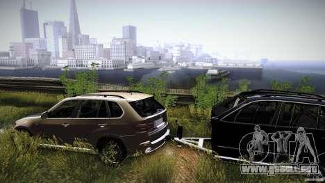 BEAM X5 Trailer para la visión correcta GTA San Andreas