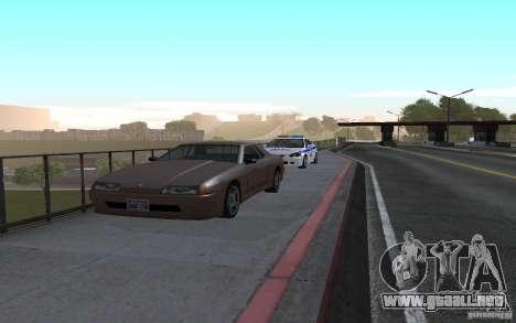 Policía en el puente de San Fiero_v. 2 para GTA San Andreas