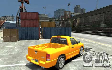Dodge Ram SRT-10 v.1.0 para GTA 4 visión correcta