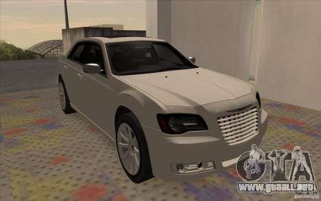 Chrysler 300C para GTA San Andreas left