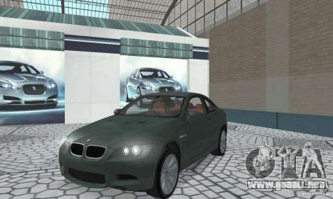 BMW M3 E92 Stock para GTA San Andreas left