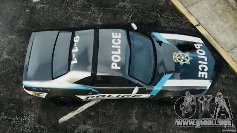 NFSOL State Police Car [ELS] para GTA 4 visión correcta