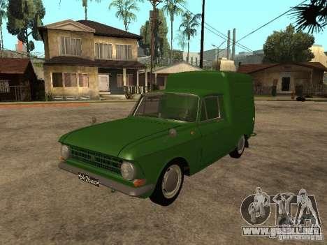 Versión temprana IZH 2715 para GTA San Andreas