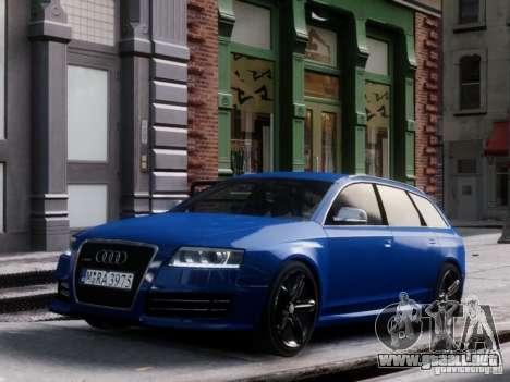 Audi RS6 Avant para GTA 4