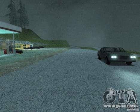 Nuevos caminos en San Fierro para GTA San Andreas décimo de pantalla
